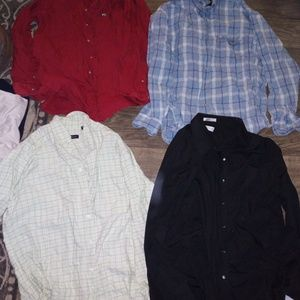 Other - Mens long sleeve button down set